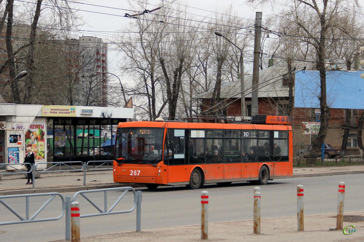 Пермь. ТролЗа-5265.00 Мегаполис №267