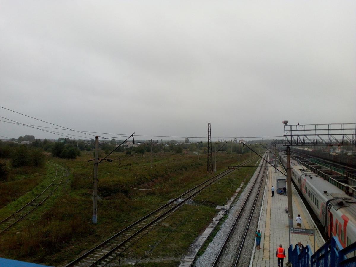 Екатеринбург. Станция Дружинино