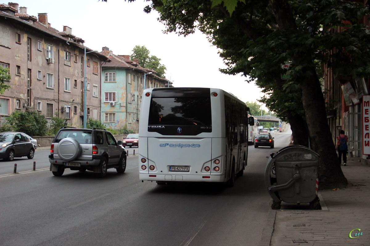 Пловдив. Temsa MD9 LE PB 4279 PX