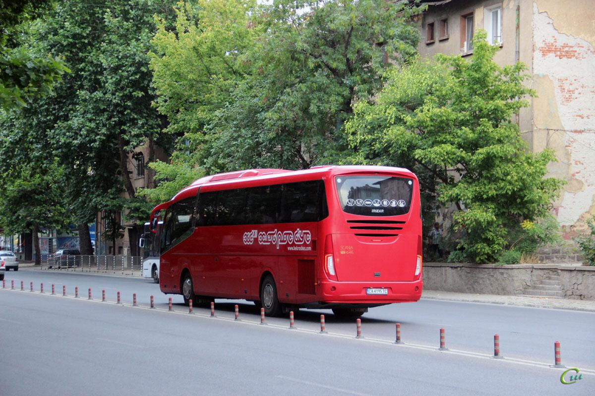 Пловдив. Irizar i6 CA 4195 TC