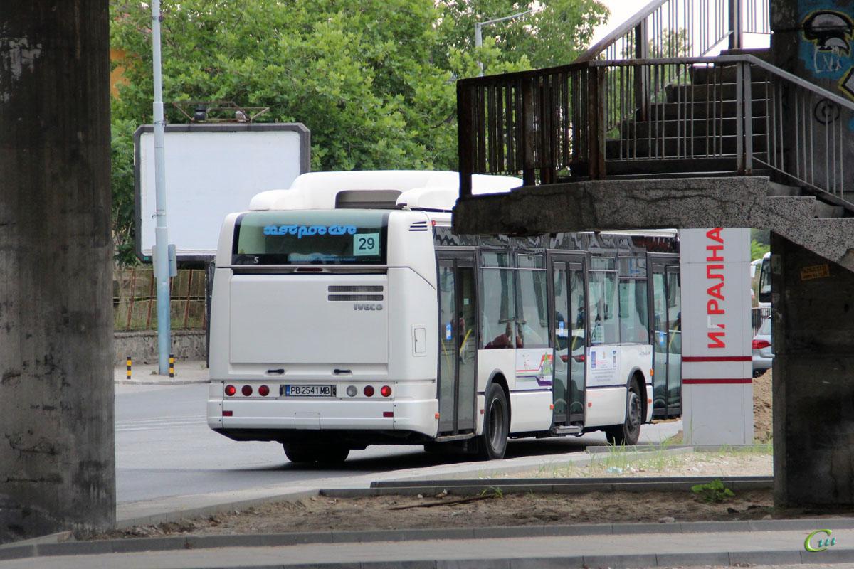 Пловдив. Irisbus Citelis 12M CNG PB 2541 MB