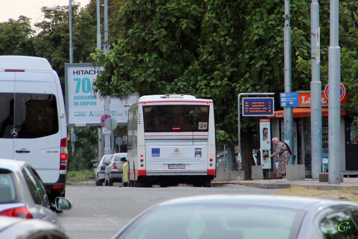 Пловдив. VDL Berkhof Ambassador 200 PB 6986 PC