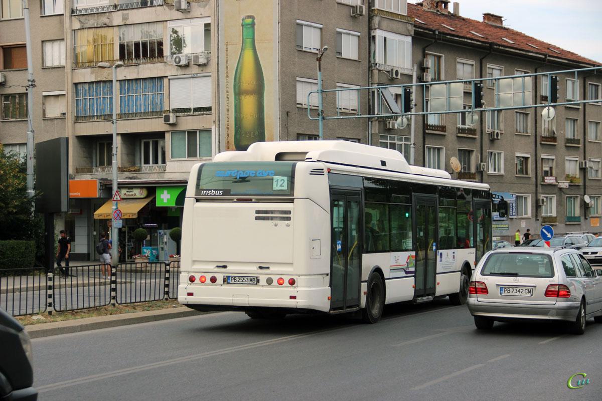 Пловдив. Irisbus Citelis 12M CNG PB 2553 MB