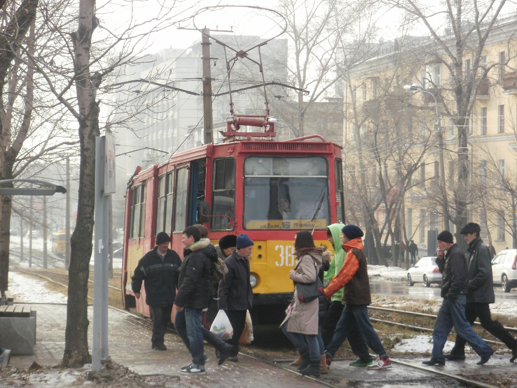 Хабаровск. 71-605А (КТМ-5А) №385