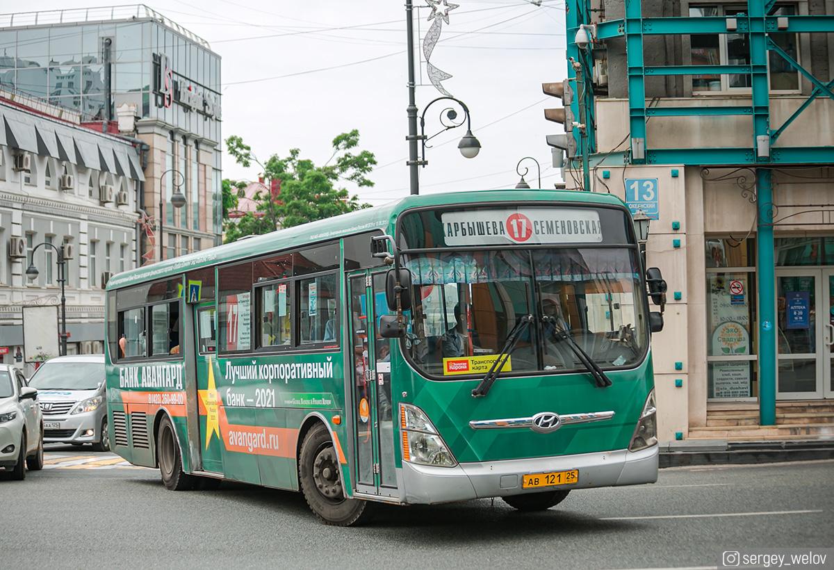 Владивосток. Hyundai Super AeroCity ав121