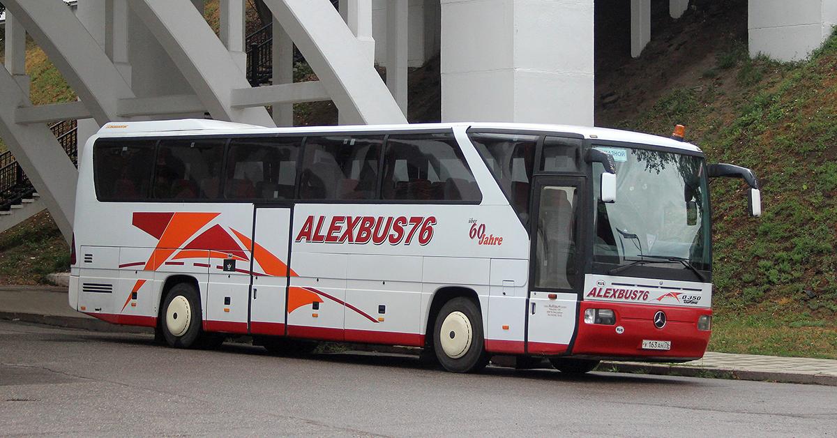 Ярославль. Mercedes-Benz O350 Tourismo у163ан