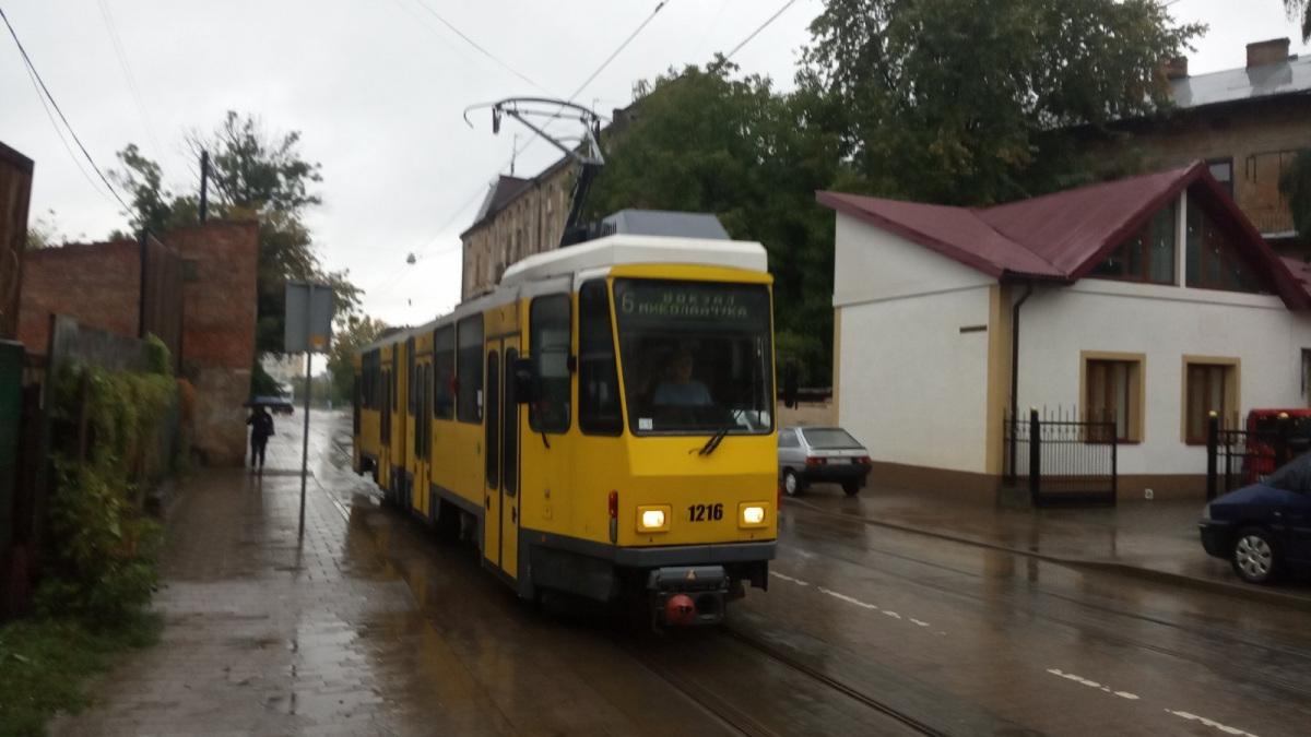 Львов. Tatra KT4DM №1216