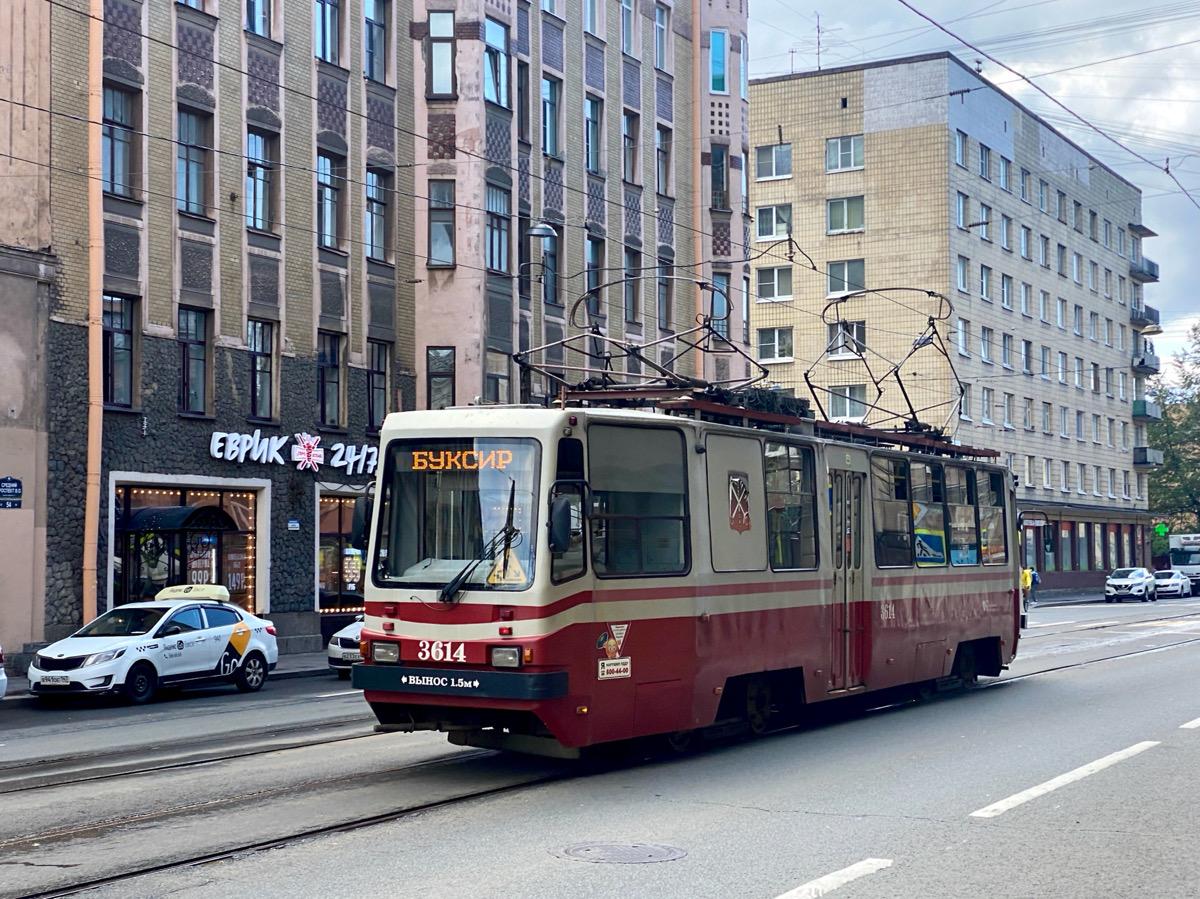 Санкт-Петербург. ТС-77 №3614