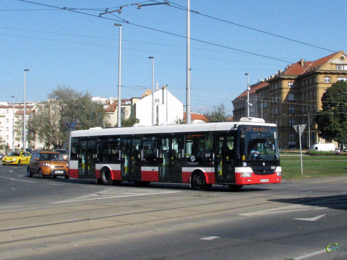 Прага. SOR NB 12 1AZ 6964