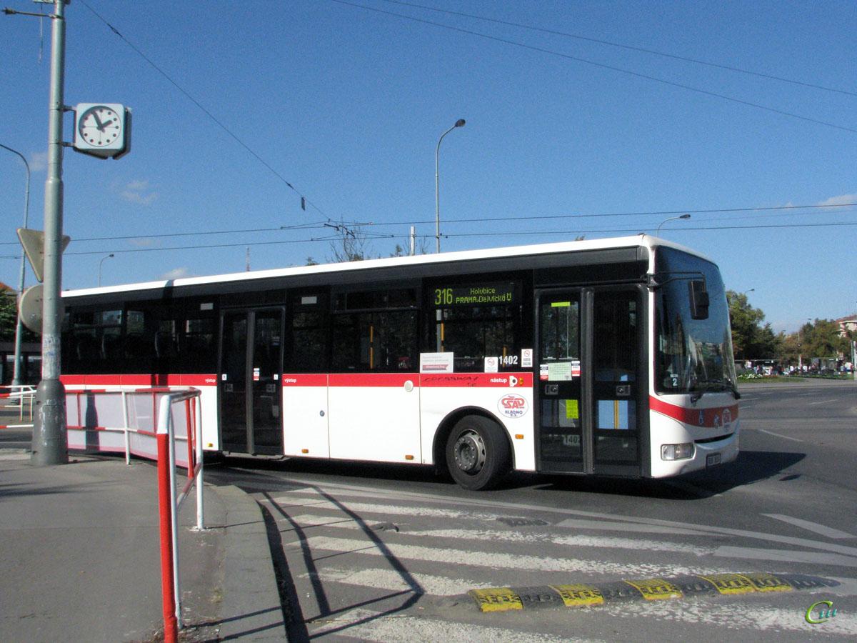 Прага. Irisbus Crossway LE 12M 8S9 8024