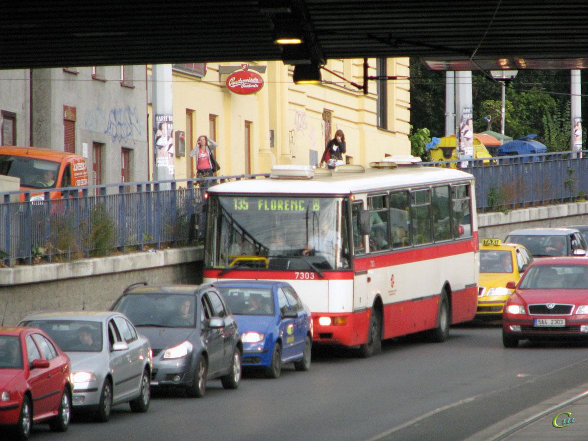 Прага. Karosa B931 AV 08-34