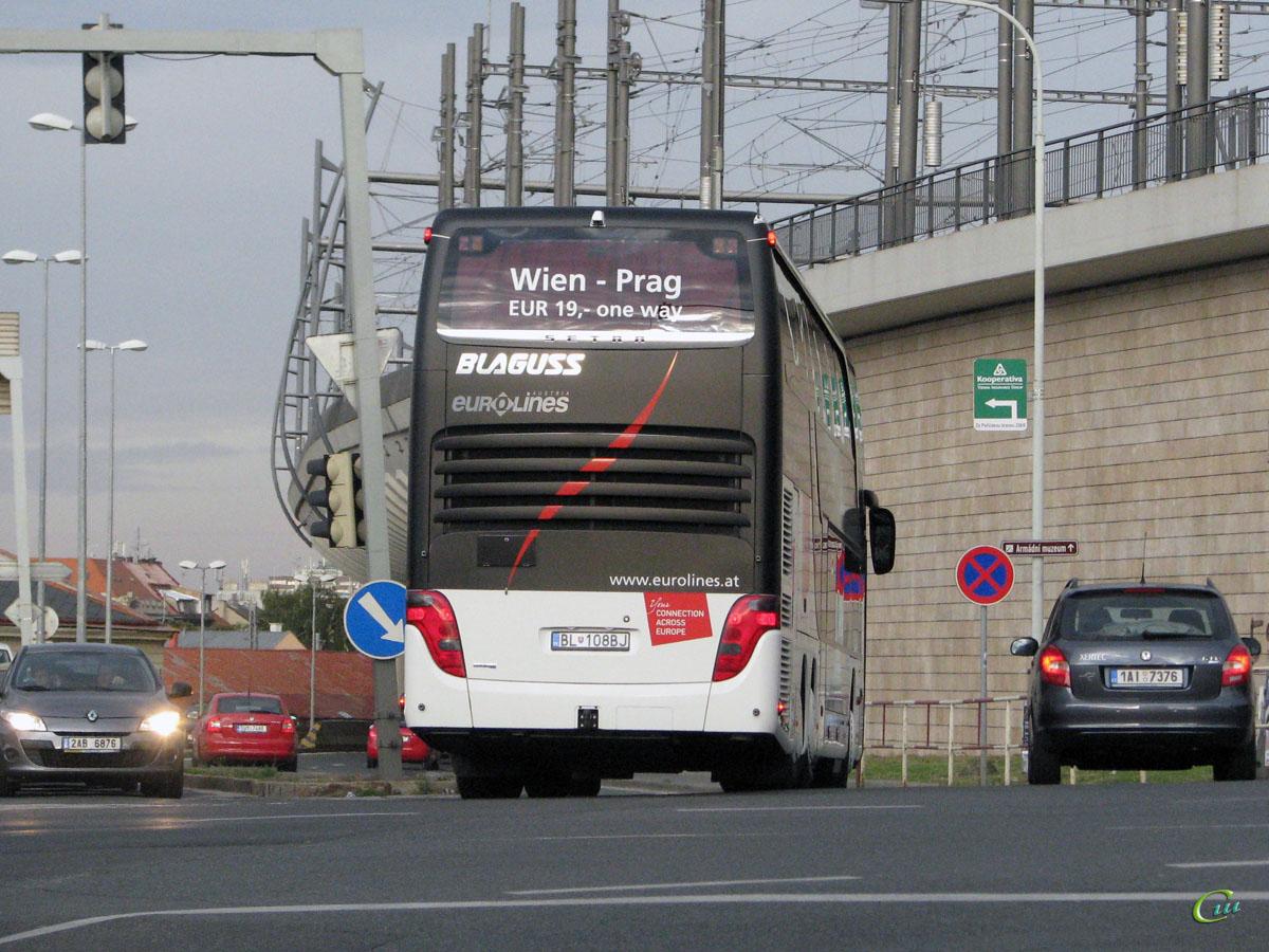Прага. Setra S431DT BL-108BJ
