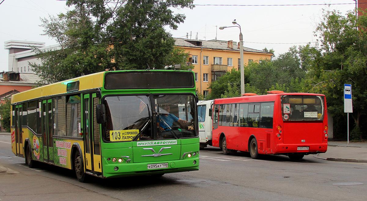 Иркутск. МАЗ-103.465 к095ат, Golden Dragon XML6840 в065хх
