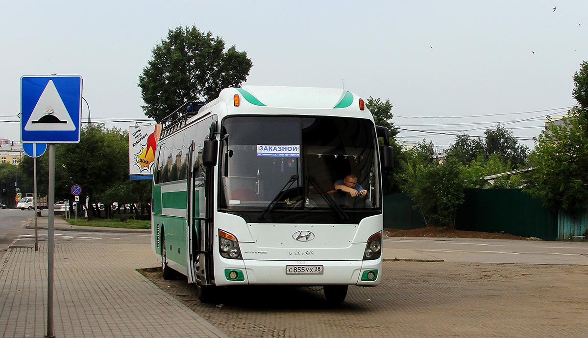 Иркутск. Hyundai Universe Space Luxury с855ух