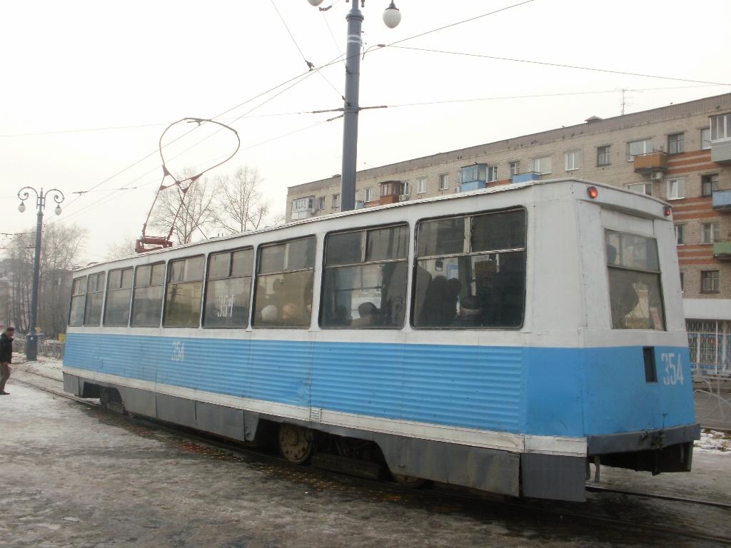 Хабаровск. 71-605 (КТМ-5) №354