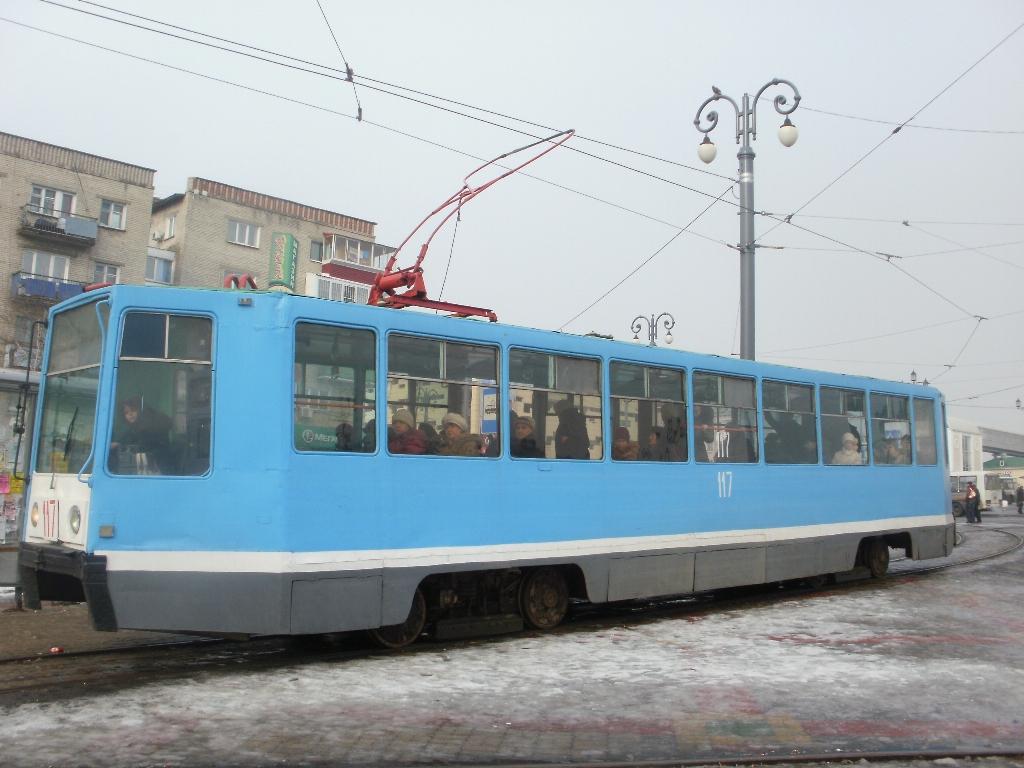Хабаровск. 71-608К (КТМ-8) №117
