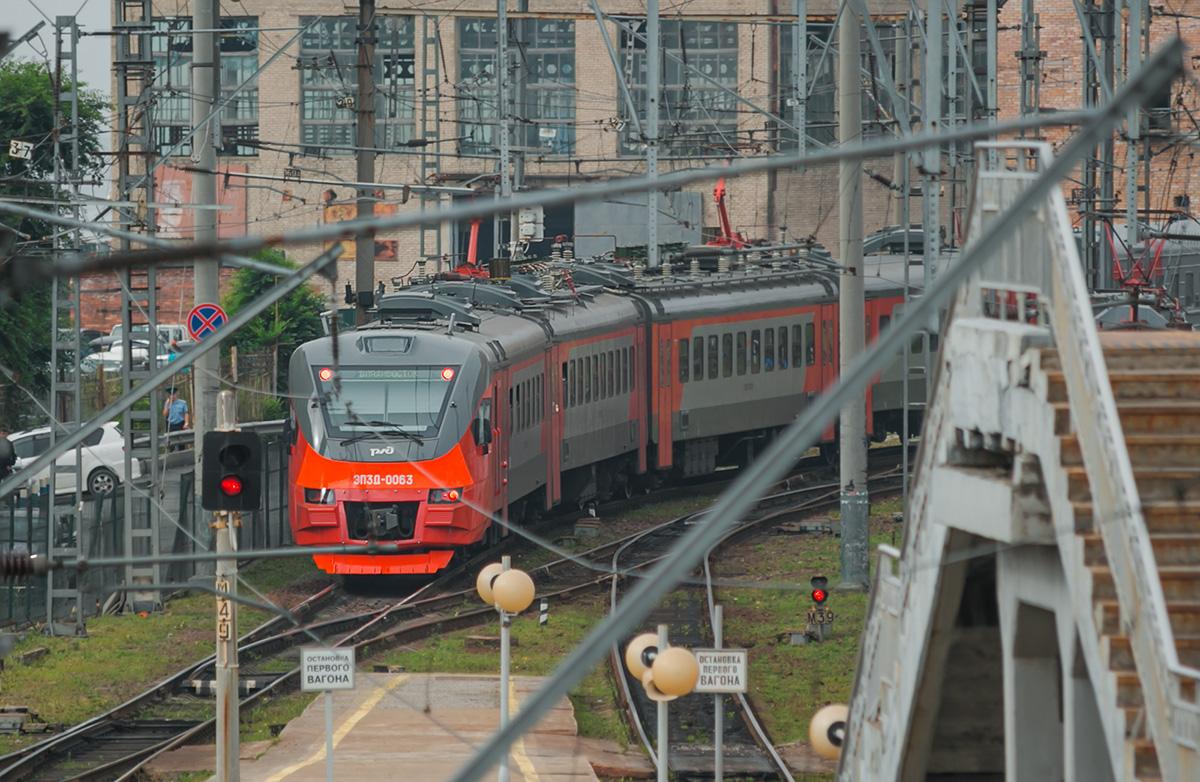Владивосток. ЭП3Д-0063