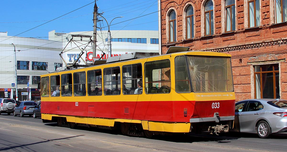 Курск. Tatra T6B5 (Tatra T3M) №033