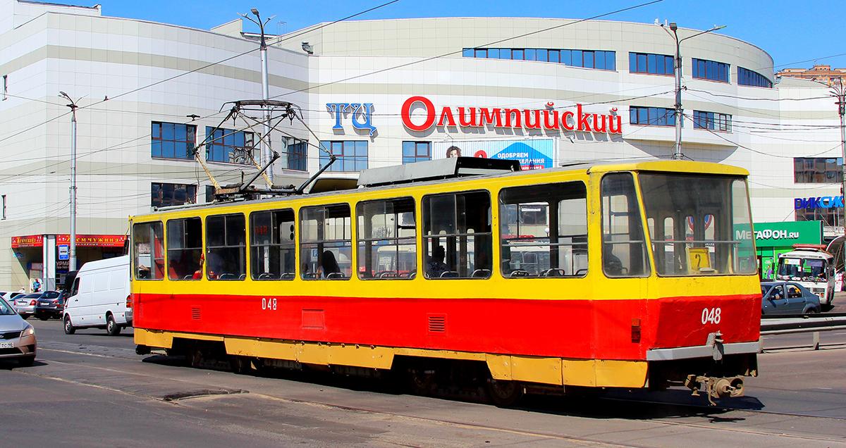 Курск. Tatra T6B5 (Tatra T3M) №048
