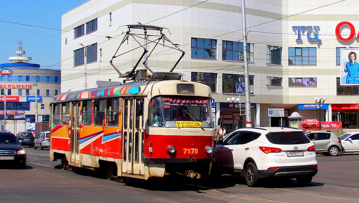 Курск. Tatra T3SUCS №7178