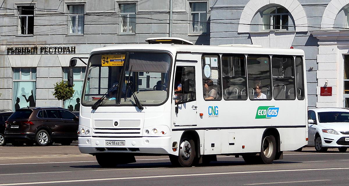 Курск. ПАЗ-320302-08 о418ае