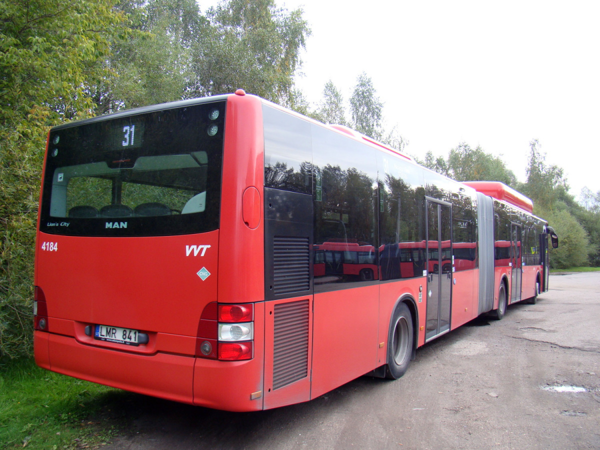 Вильнюс. MAN A23 Lion's City NG313 CNG LMR 841
