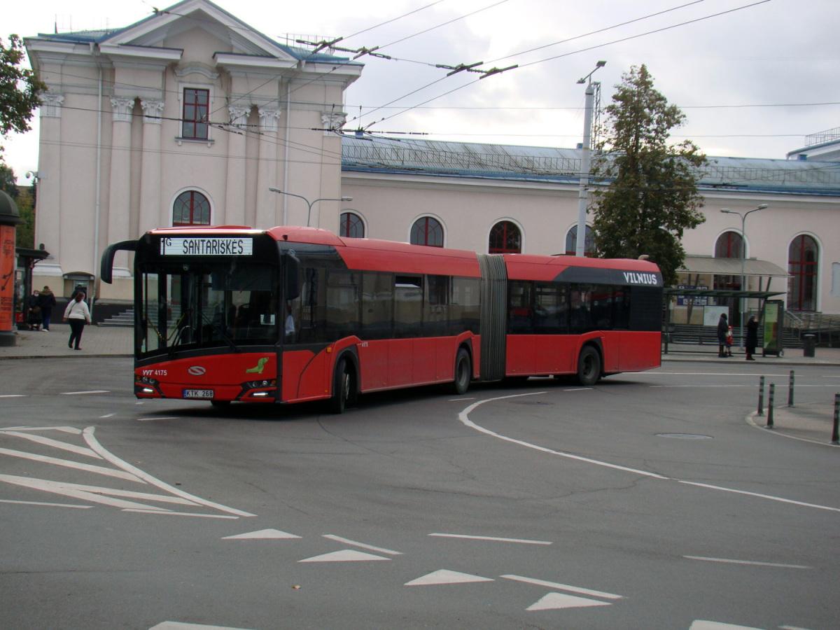 Вильнюс. Solaris Urbino IV 18 KTK 268