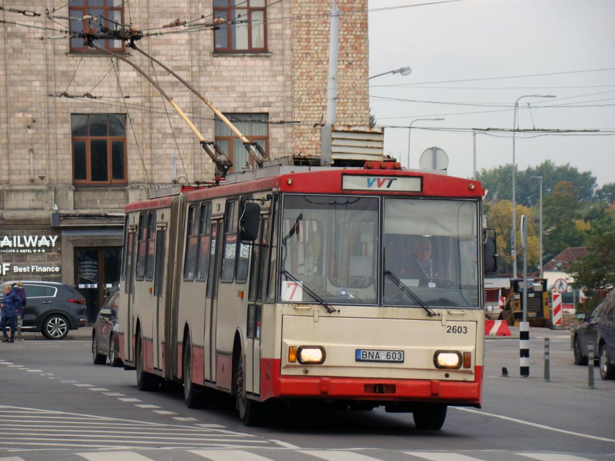 Вильнюс. Škoda 15Tr03/6 №2603