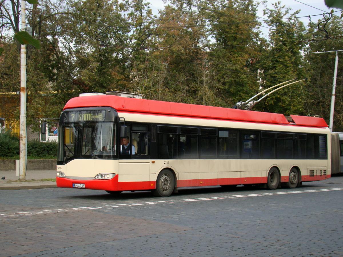 Вильнюс. Solaris Trollino 15 №2715