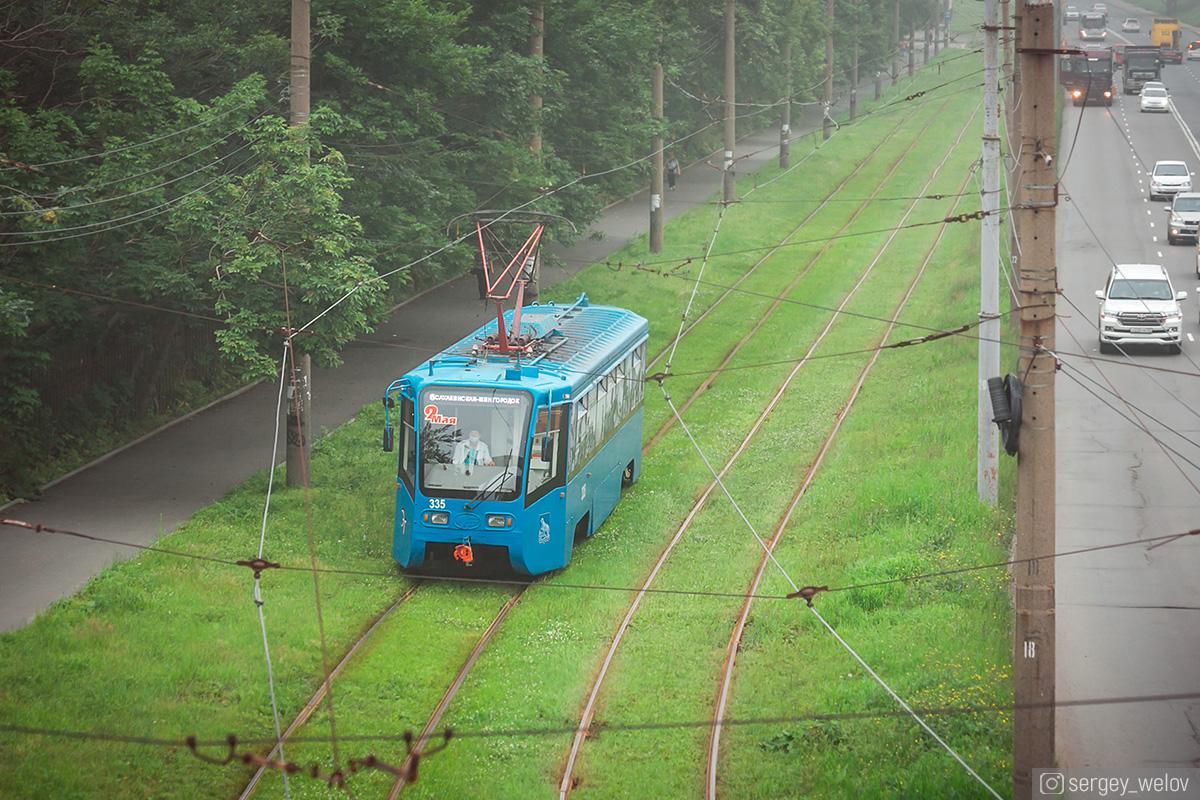 Владивосток. 71-619К (КТМ-19К) №335