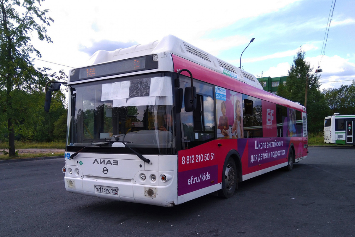 Санкт-Петербург. ЛиАЗ-5292.67 а113ус