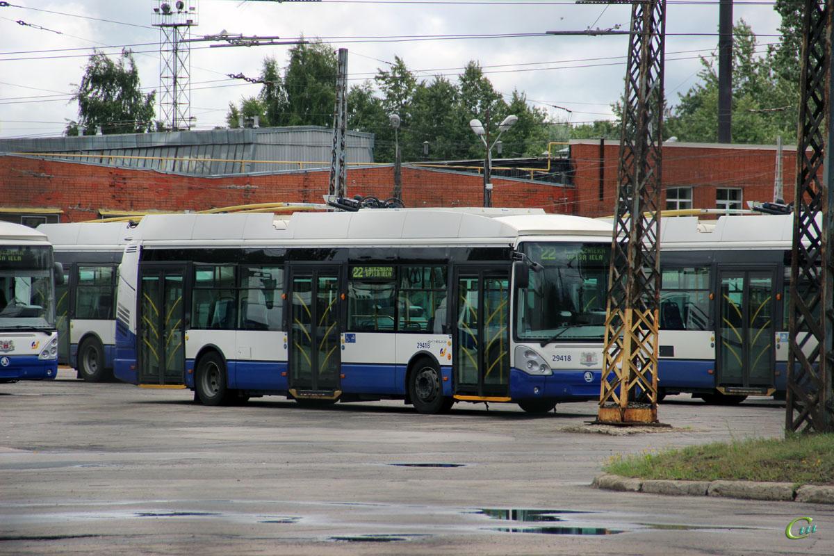 Рига. Škoda 24Tr Irisbus Citelis №29418