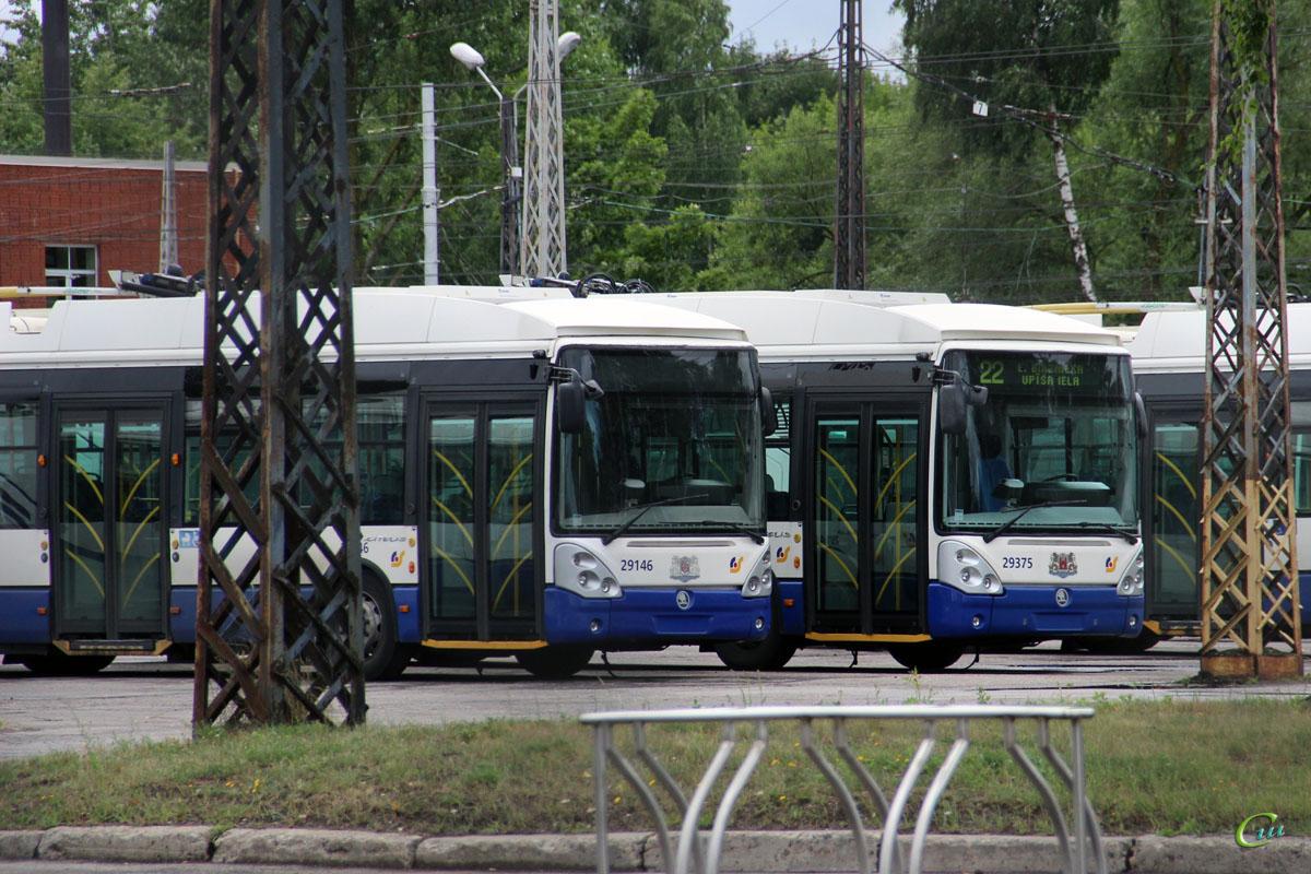 Рига. Škoda 24Tr Irisbus Citelis №29146, Škoda 24Tr Irisbus Citelis №29375