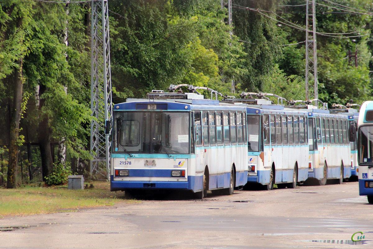Рига. Škoda 14Tr02/6 №21523, Škoda 14Tr02/6 №21578