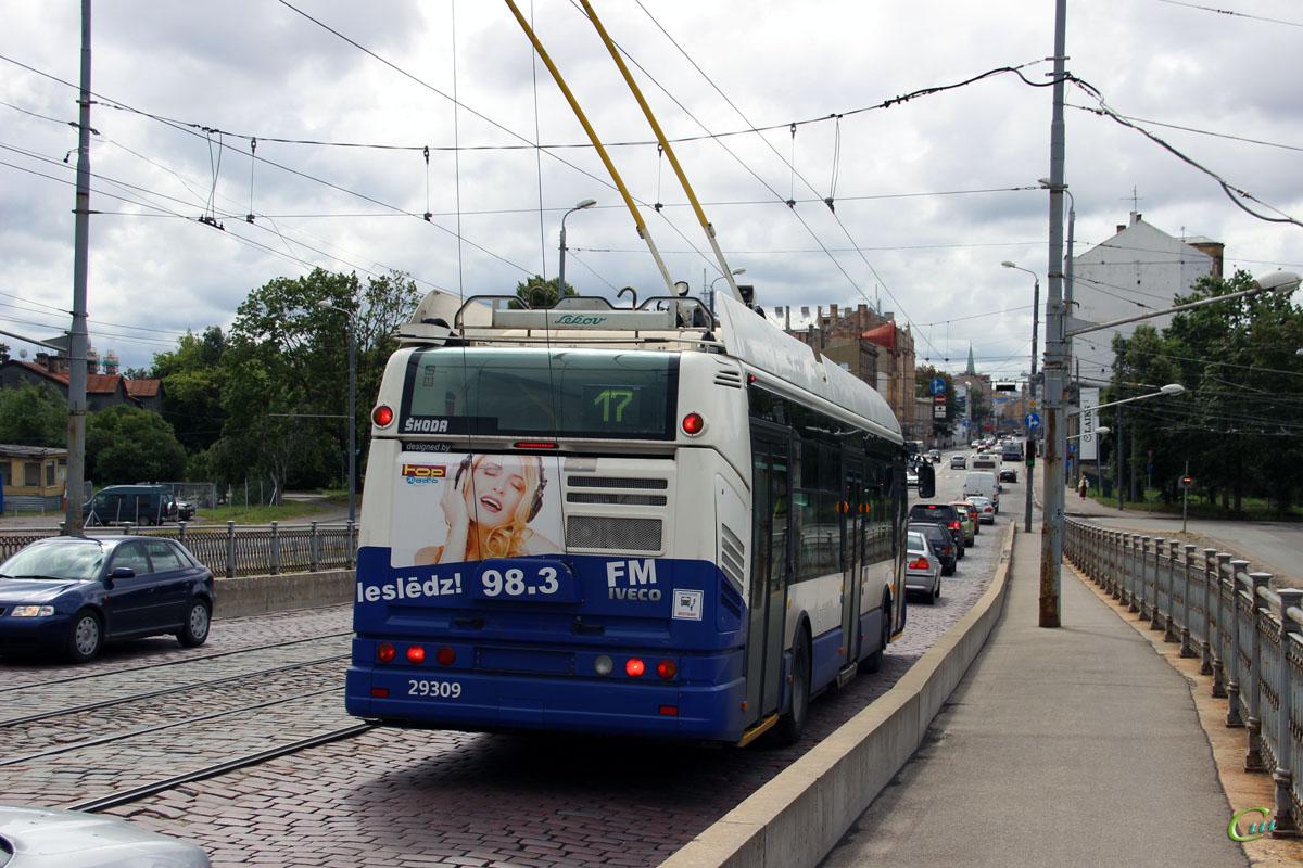 Рига. Škoda 24Tr Irisbus Citelis №29309
