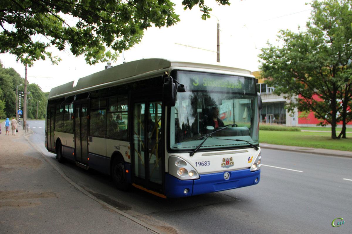 Рига. Škoda 24Tr Irisbus Citelis №19683