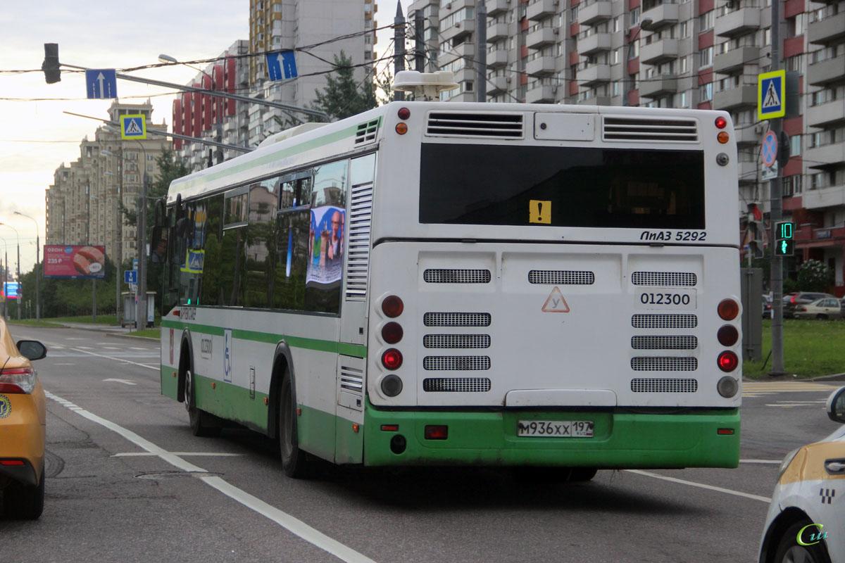 Москва. ЛиАЗ-5292.22-01 м936хх