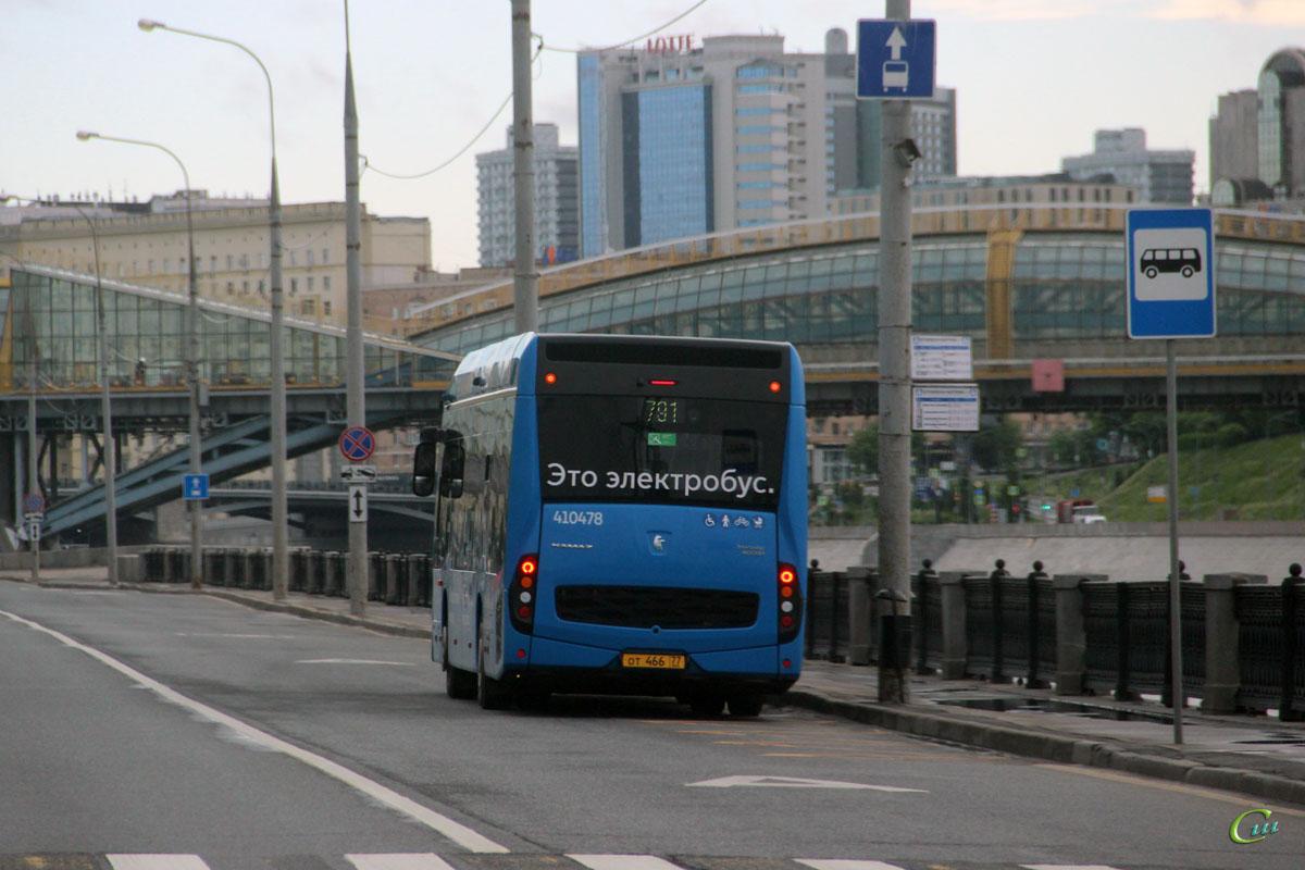 Москва. КамАЗ-6282 от466