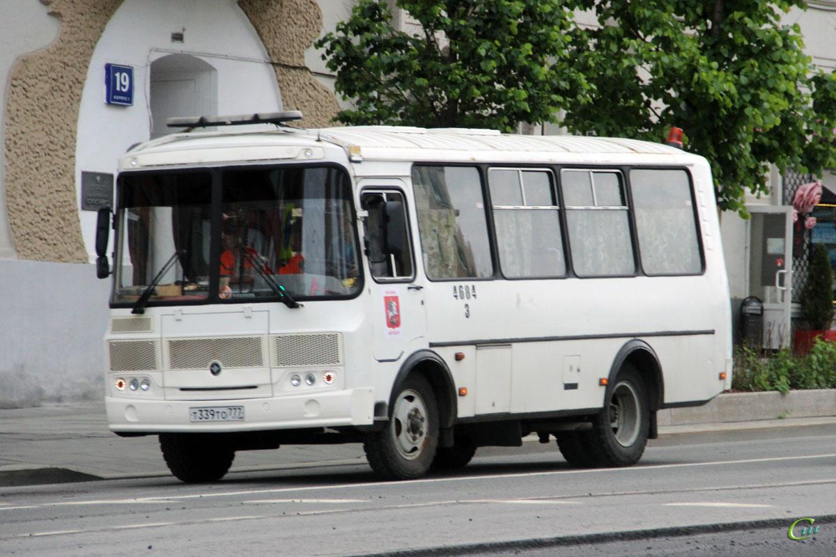 Москва. ПАЗ-32054 т339то