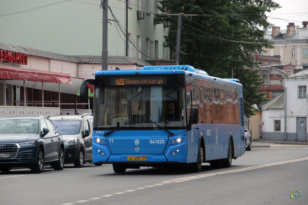 Москва. ЛиАЗ-5292.65 ха695