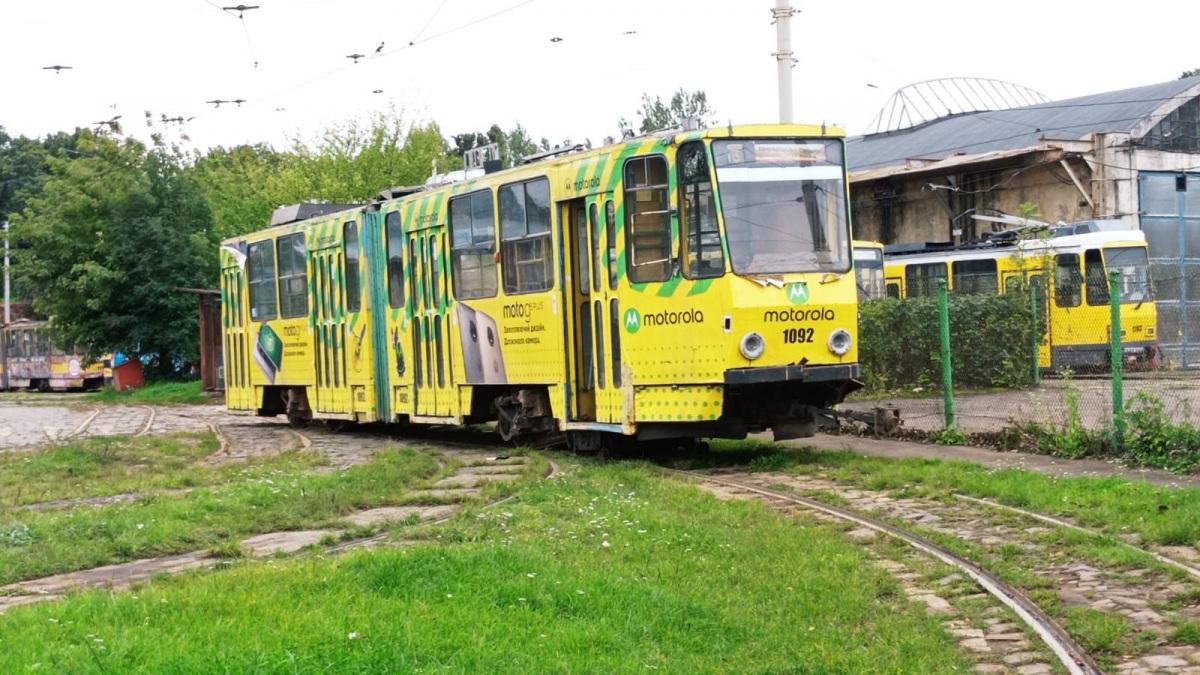 Львов. Tatra KT4SU №1092