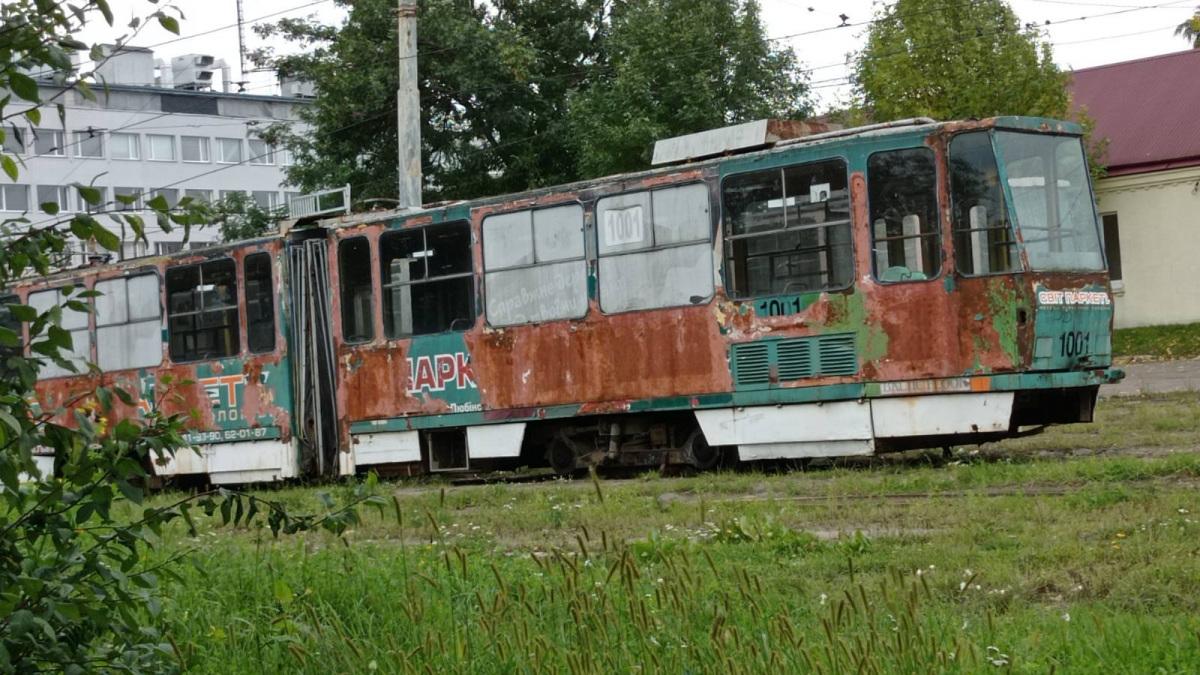 Львов. Tatra KT4SU №1001