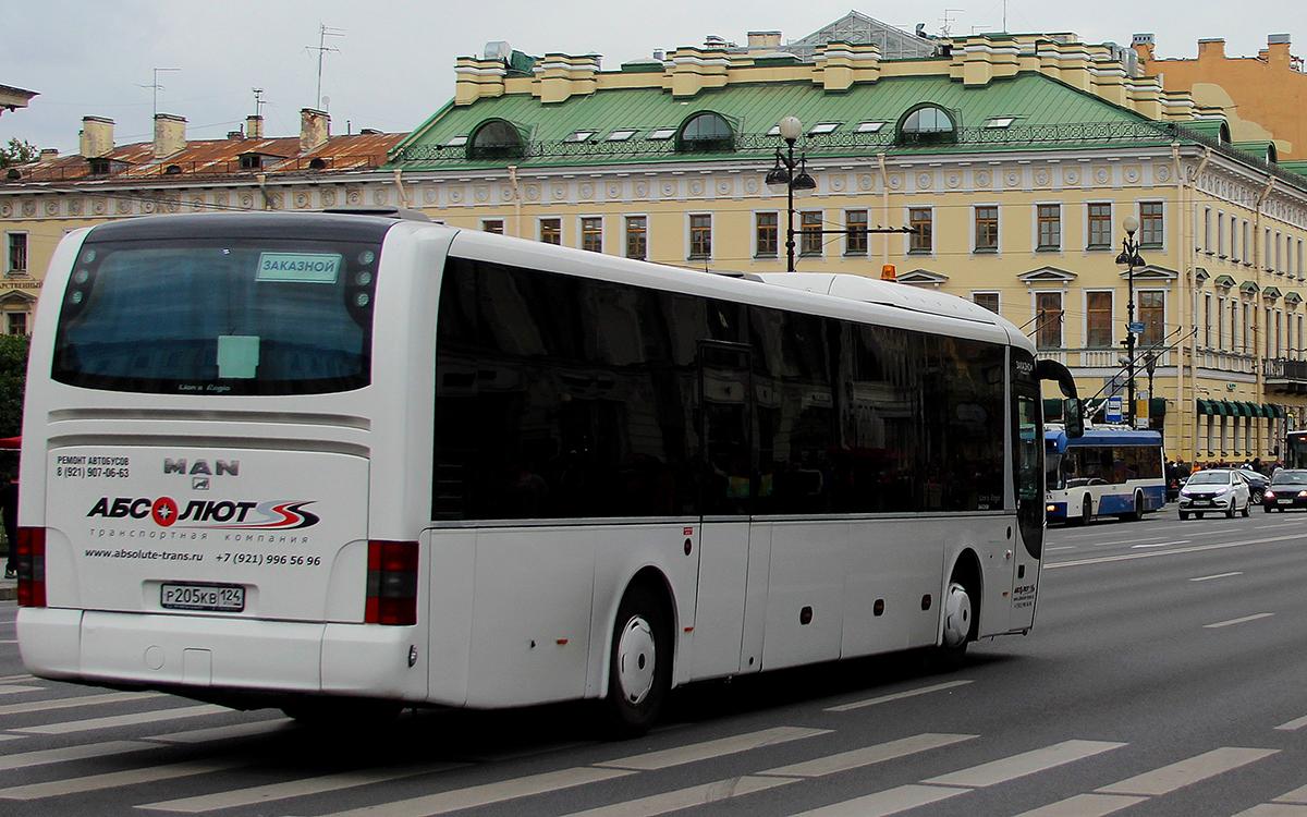 Санкт-Петербург. MAN R14 Lion's Regio C р205кв