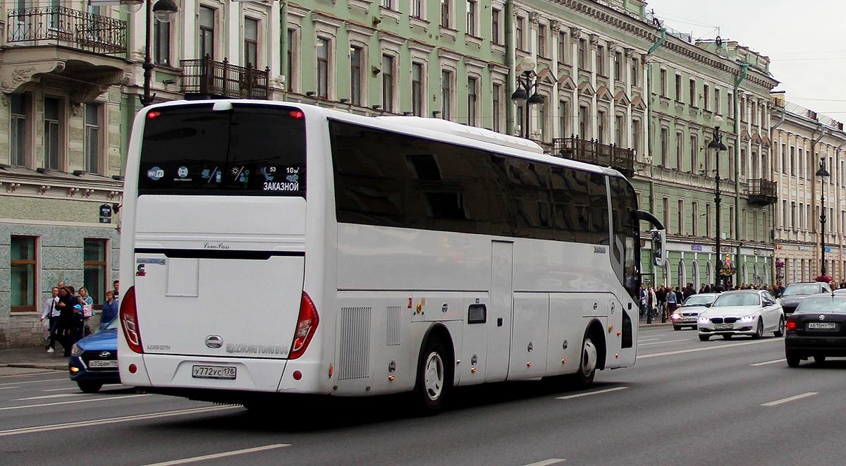 Санкт-Петербург. Zhong Tong LCK6127H ComPass у772ус