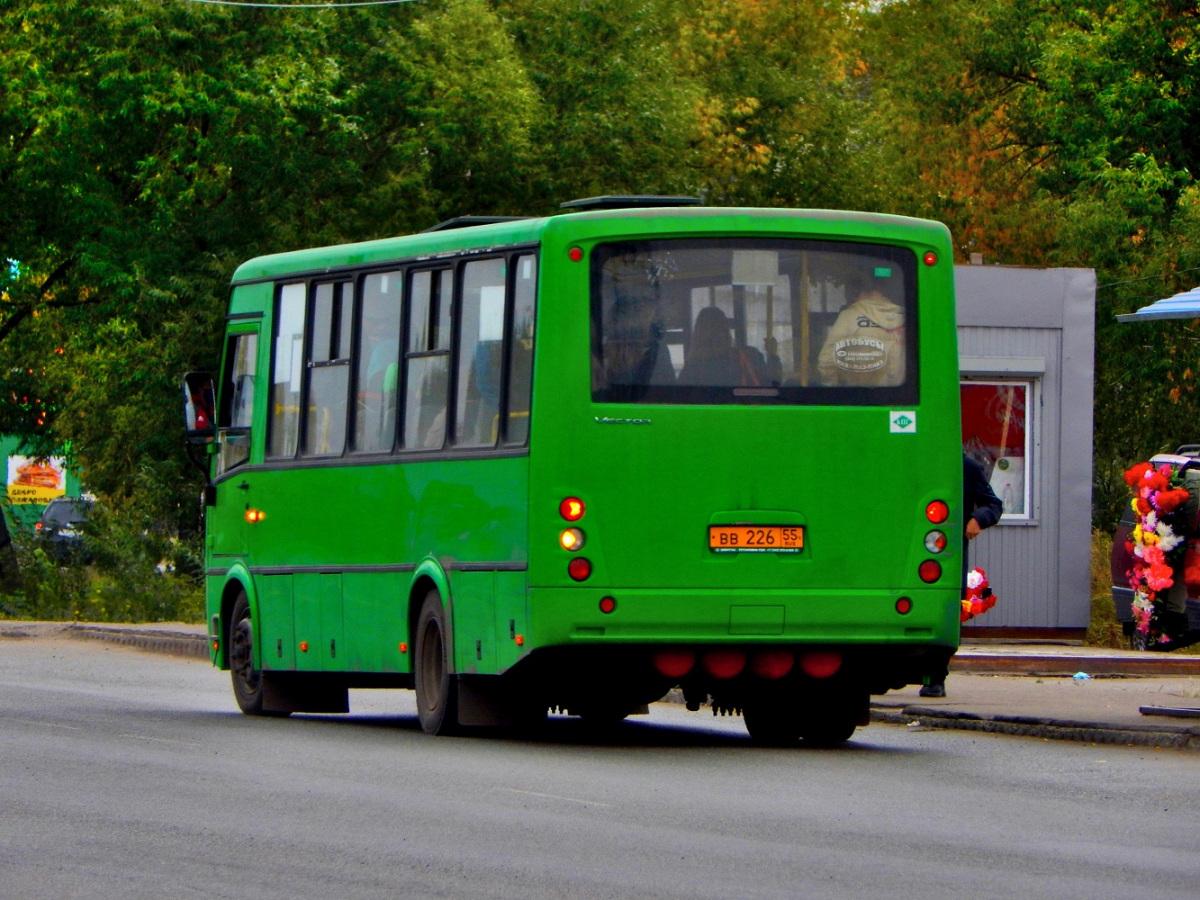 Омск. ПАЗ-320412-14 Вектор вв226