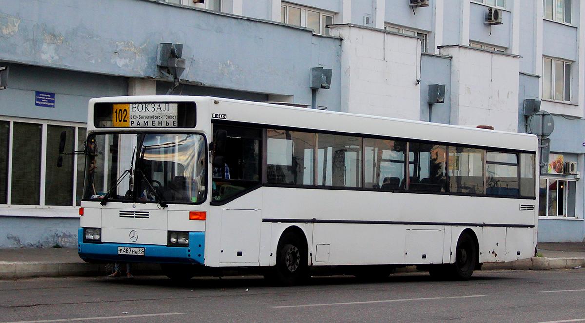 Владимир. Mercedes-Benz O405 р487на