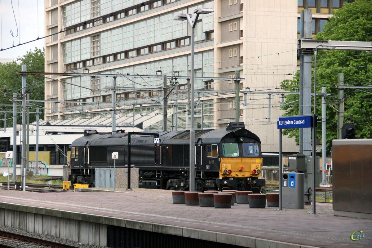 Роттердам. EMD Class 66 № 8653-01