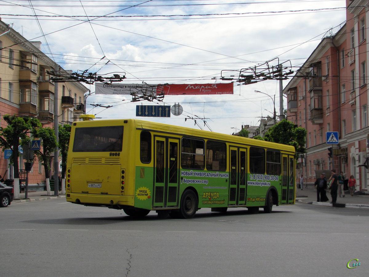 Рязань. ЛиАЗ-5256.36 а883аа