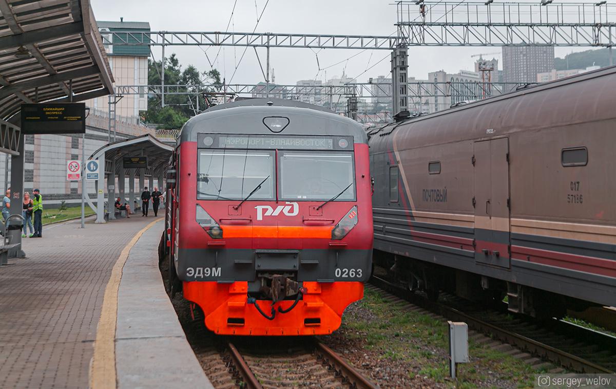 Владивосток. ЭД9М-0263