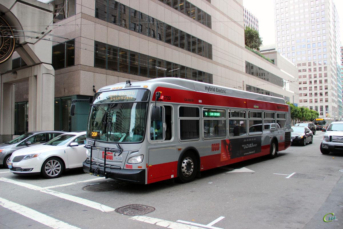Сан-Франциско. New Flyer XDE40 1421205